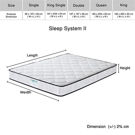Sleep Systems Mattress Company by Sleep System 2 Pocket Mattress Melbournians Furniture