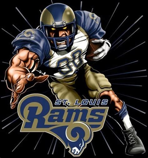 louis rams history history of all logos all st louis rams logos