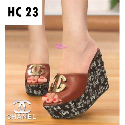 Sepatu Sandal Cewek Casual jual sepatu sandal wedges wanita cewek pesta casual hak
