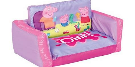 peppa pig couch peppa pig flip out sofa review compare prices buy online