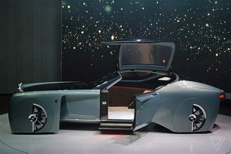 rolls royce concept interior the rolls royce vision 100 concept is completely