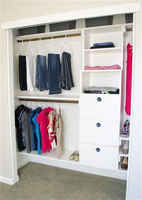 Diy Small Closet by Diy Closet Organization Decorating Your Small Space