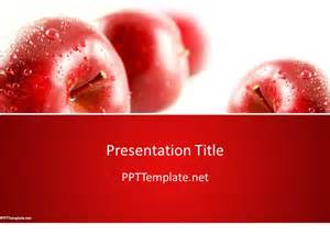 apple powerpoint template free apple ppt template