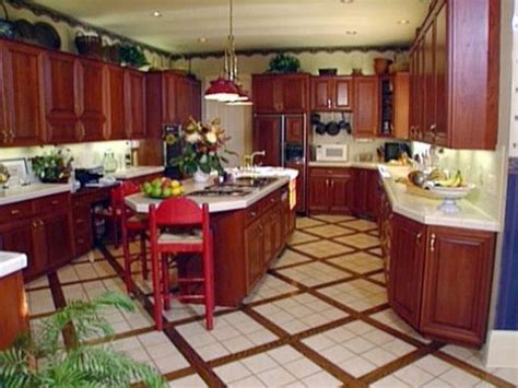 floors and decor plano kitchen floor tile ideas with cherry cabinets morespoons b20026a18d65