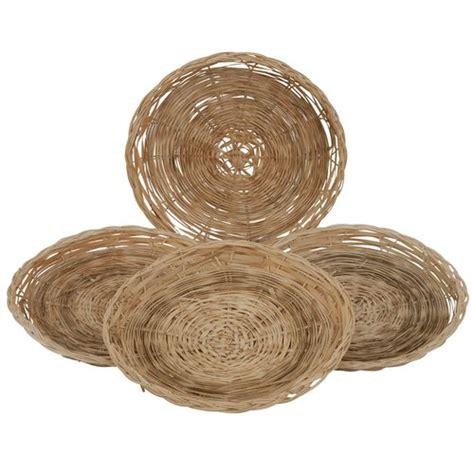 paper plate holder mainstays bamboo paper plate holder 4 set walmart