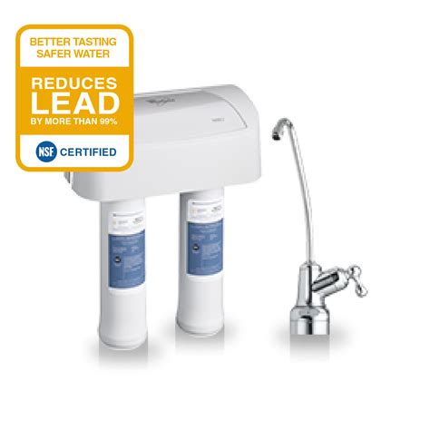 whirlpool sink water filter installation sink replacement water filter set 2pk whirlpool