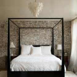 Exposed Brick Bedroom by Exposed Brick Wall Bedroom Inspiration Pinterest