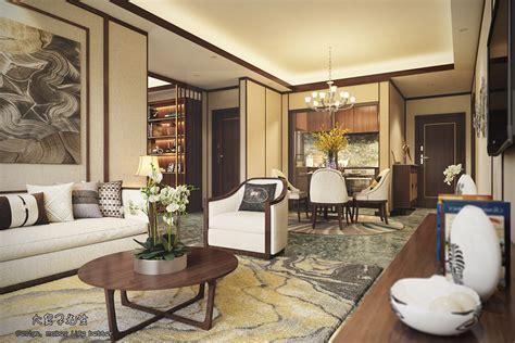 beautiful apartment interior design  chinese style