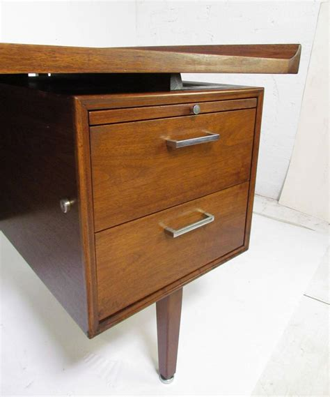 Desk Eliptical by Mid Century Modern Executive Desk With Elliptical Top By