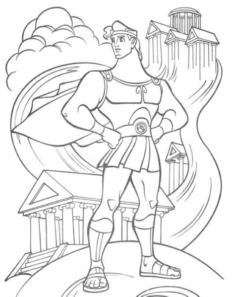 printable hercules coloring pages coloring me