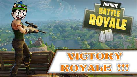 Fortnite: Battle Royale   VICTORY ROYALE !!!   YouTube