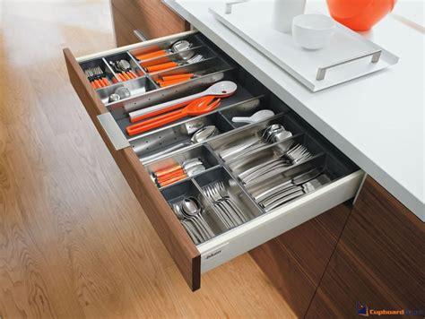 Line Drawer by Cupboardware Blum Orga Line Cutlery Combination
