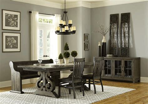 bellamy dining table and 4 side chairs