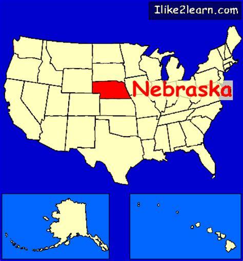 map us nebraska nebraska