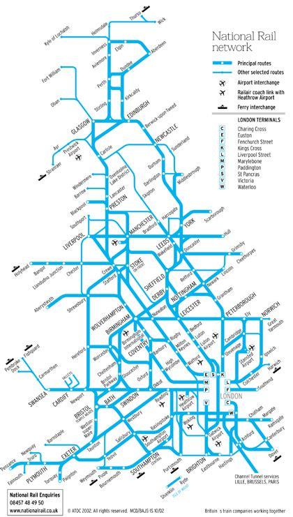 map uk rail lines map of lines derietlandenexposities