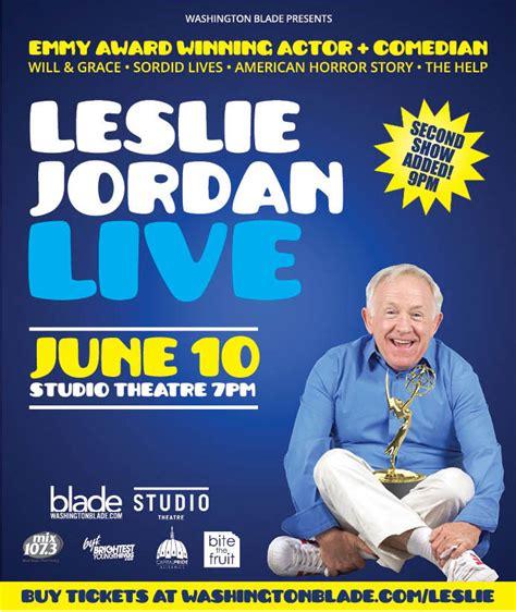 Jordan Giveaway 2016 - leslie jordan giveaway