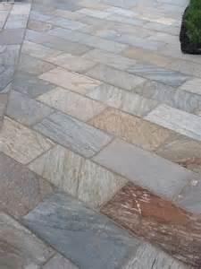 Patio Designs With Slate Slate Patio Design Outdoor Projects