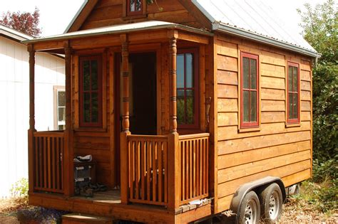How To Build A Tiny House On Wheels Trailer And Small Tiny House Plans On Wheels Cost