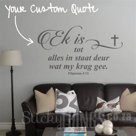 wall stickers bible verses afrikaans bible verse wall sticker stickythings co za