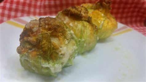 fiori di zucchino ripieni ricette kcook crepes ripiene di ricotta zucchine e