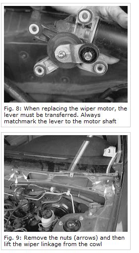 how to install a wiper motor how do you install a windshield wiper motor for a 1998
