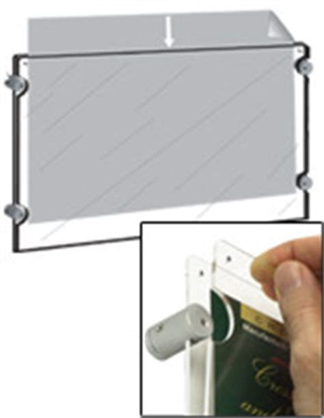 mounting posters without frames clear poster frames basic diy acrylic fold overs