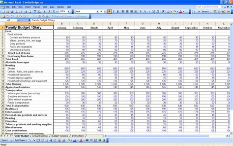 business expense spreadsheet template expense spreadsheet template