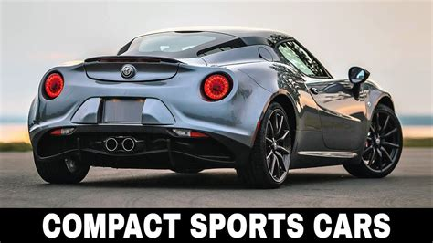 10 Best Compact Sports Cars On Sale In 2018 Honest Buyer