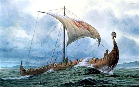 viking boats pictures viking wallpapers wallpaper cave