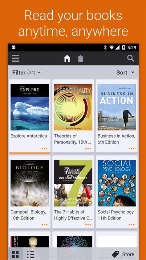 Vitalsource Bookshelf Kindle bookshelf appstore for android
