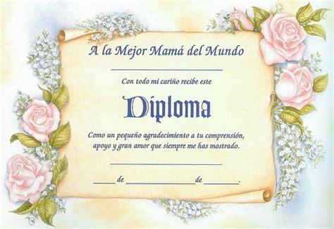 diplomas de honor cristianas diplomas para mam 225 para imprimir