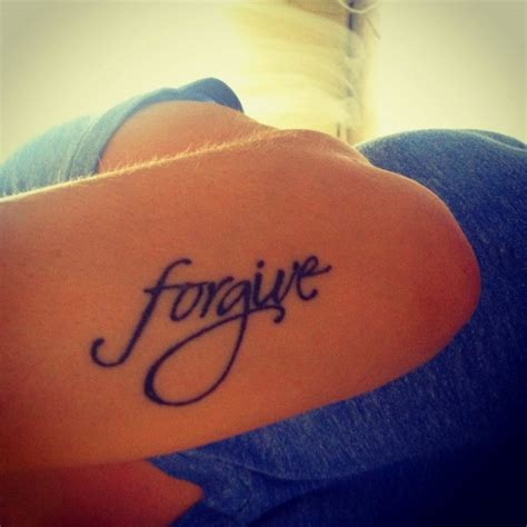 forgiveness tattoo forgive designs and piercings