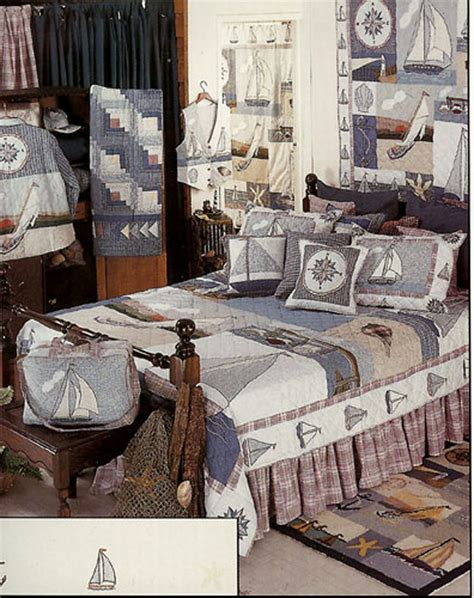 Nautical Bed Quilts by Nautical By Patchmagic Quilts Beddingsuperstore
