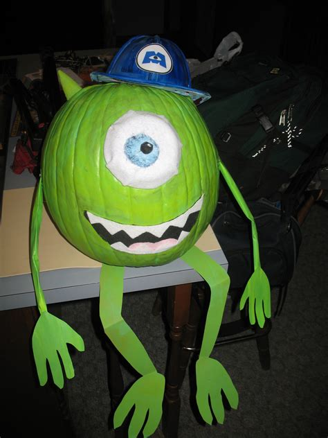 mike wazowski pumpkin template mike monsters inc pumpkin contest angie carroll flickr
