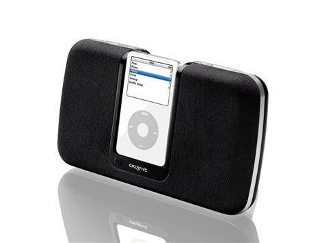 Creative X Fi I600 Now Ipod Compatible by Creative Premieres New Series Of Speaker Systems