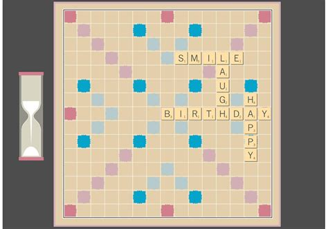 picture of a scrabble board scrabble board free fector free vector