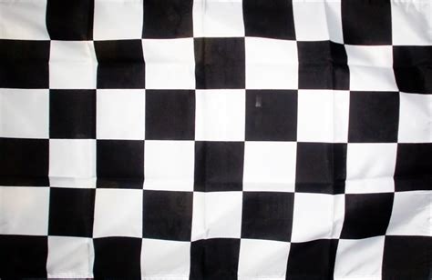 flag white black checkered black white 5 x 3 flag