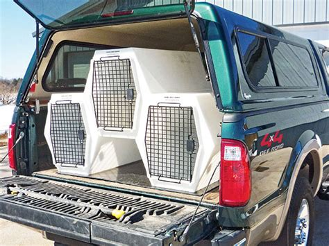 kennel for truck the best crates kennels for 2013 gun magazine