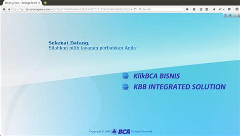 bca bisnis coretan kecil internet banking bca bisnis dengan