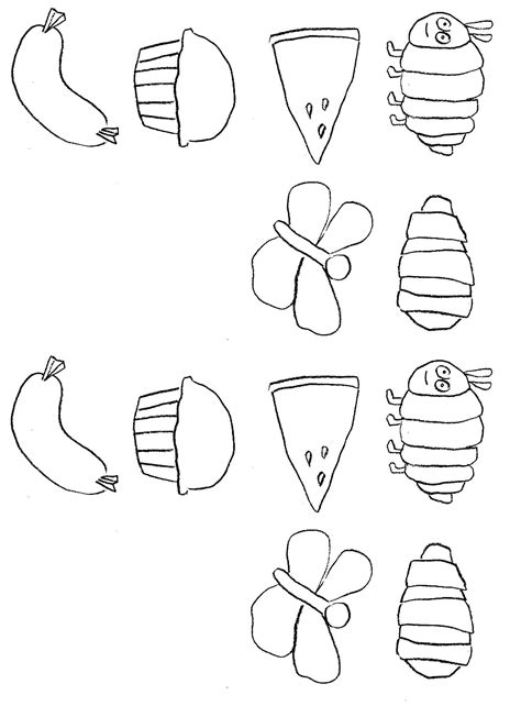 Free Coloring Pages Of Very Hungry Caterpillar 4 Hungry Caterpillar Coloring Pages