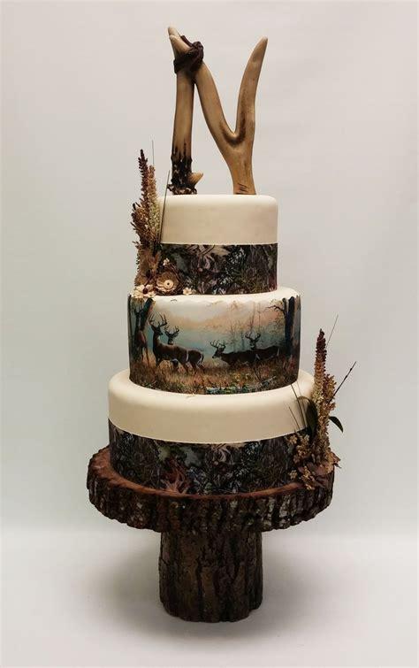Hochzeitstorte Jagd by 17 Best Ideas About Camo Wedding Cakes On Camo