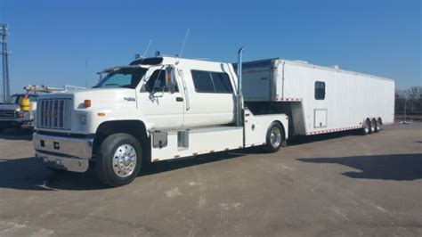 gmc topkick custom hauler for sale photos technical