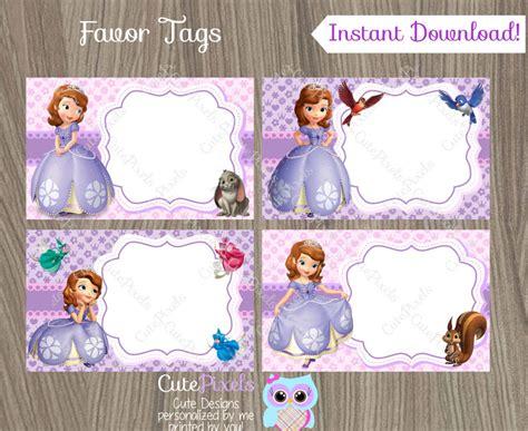 sofia their grand idea books princess sofia favor tags sofia the name tags sofia