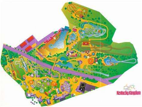 kentucky kingdom map amusement theme parks industry history