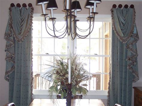 decorative trim for drapes dining room blue drapes with trim ronica s custom creations