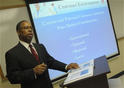 Union College Mba Healthcare by Germantown Mba Students Present Strategic Plan For Center