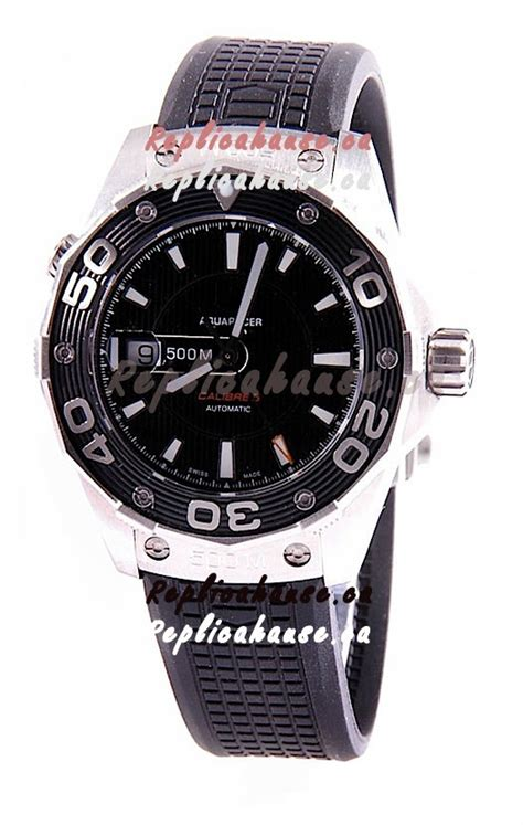 Tag Heuer Aquaracer 300m Swiss Clone 1 1 1 tag heuer aquaracer calibre 5 swiss replica shipping from canada for just 569 usd
