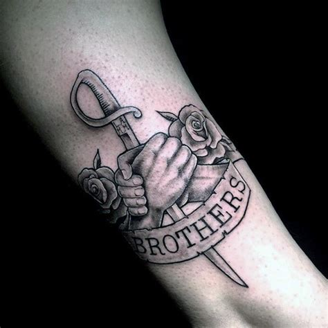 brotherhood tattoos 60 tattoos for masculine design ideas