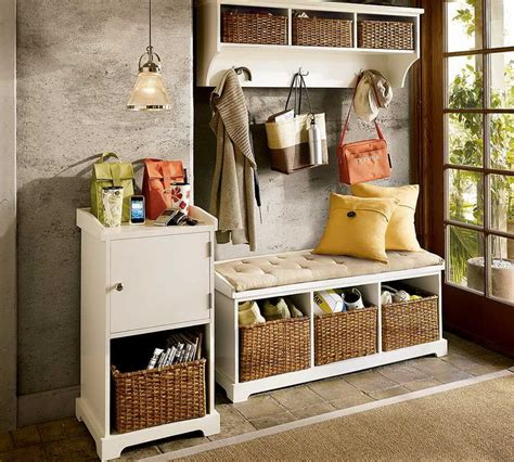 Entrance Storage Small Bench With Storage For Entryway Storage And Stylish