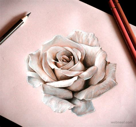 tattoo 3d drawing rose drawing shanuke 4 preview